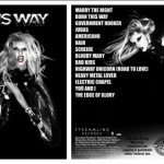 Lady Gaga publica el listado de canciones de 'Born This Way'