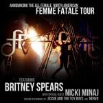 Comienza el Femme Fatale Tour de Britney Spears en Sacramento