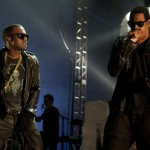 Kanye West presenta junto a Jay Z su single H*A*M