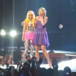 Nicki Minaj y Taylor Swift actuaron juntas en un concierto
