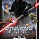 "Primer cartel de ""Star Wars Episodio I La Amenaza Fantasma"" en 3D"