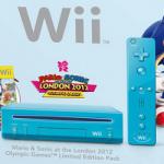 """Nintendo anuncia un pack especial de """"Mario & Sonic"""" para los Juegos Olímpicos de Londres 2012 con una Wii azul"""