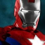 La armadura Iron Patriot se deja ver en el rodaje de la esperada 'Iron Man 3'
