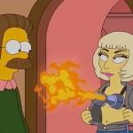Ya puedes ver el capítulo de Lady Gaga en Los Simpsons