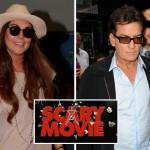 Charlie Sheen y Lindsay Lohan se apuntan a 'Scary Movie 5' que ya cuenta con fecha de estreno