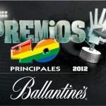 #Premios40Principales 2012: Conoce los ganadores y disfruta de las actuaciones