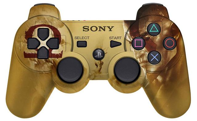 god of war dual shock