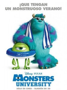 Monsters University Spanish Poster