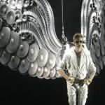 Justin Bieber actuó anoche en Madrid