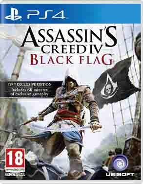 Ubisoft Adelanta El Lanzamiento De Assassin S Creed Iv Para Ps4