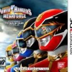 Namco Bandai anuncia 'Power Rangers: Megaforze' para 3DS