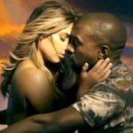 Kim Kardashian protagoniza el nuevo vídeo de su marido Kanye West