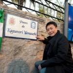 Yamauchi ya tiene un paseo con su nombre en Ronda