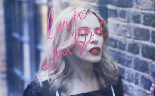 Kylie-into-the-blue-lyric-video