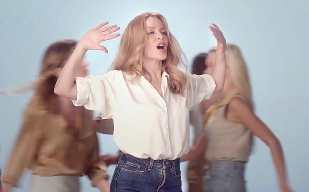 Kylie Minogue - I Was Gonna Cancel (Official Video) (Screengrab)