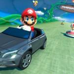 Mario conducirá un Mercedes Benz en el primer DLC de 'Mario Kart 8'