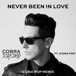 Cobra Starship estrena el vídeo de 'Never Been In Love' con Icona Pop