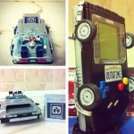 Venden una Game Boy convertida en DeLorean por 200€