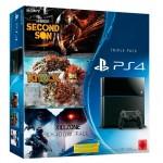 Se filtra un pack de PS4 con tres juegos por 499€