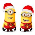 Los Minions te desean feliz navidad