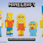 Los Simpson invadirán 'Minecraft' en febrero