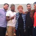 Ed Sheeran y Rudimental juntos en el vídeo de 'Bloodstream'