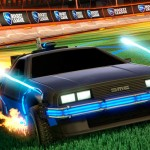 El DeLorean de 'Back to the Future' llega a 'Rocket League' como DLC
