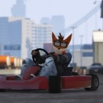 Crash Bandicoot visita 'Grand Theft Auto V'