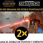 Doble experiencia en 'Star Wars Battlefront' este fin de semana
