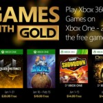 Microsoft desvela los Xbox Games with Gold de enero