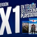 Sony ofrece 2×1 en una selección de juegos para PS4