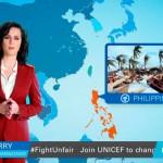 Katy Perry alerta sobre el cambio climático haciendo de chica del tiempo