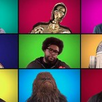 Jimmy Fallon, Harrison Ford o Chewbacca cantan 'Star Wars' a capela