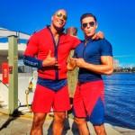 Primera imagen de Baywatch con Dwayne Johnson y Zac Efron