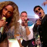 Beyoncé, Bruno Mars y Coldplay actúan en el intermedio de la Super Bowl 2016