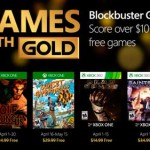 Descubre los Games with Gold de abril
