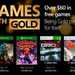 Estos son los Games with Gold de mayo