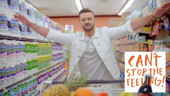 Justin Timberlake - Can't Stop the Feeling - MV