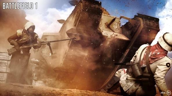 Battlefield 1 tank