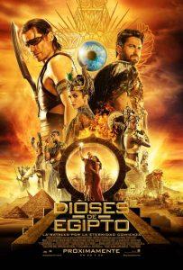 dioses-de-egipto-cartel Estrenos de cine 22 de junio
