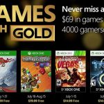 Anunciados los Games with Gold de julio