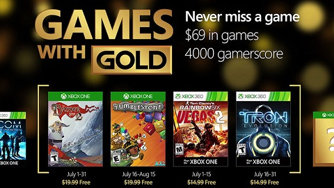 games with gold julio