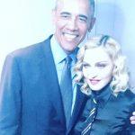 Obama deja sin palabras a Madonna