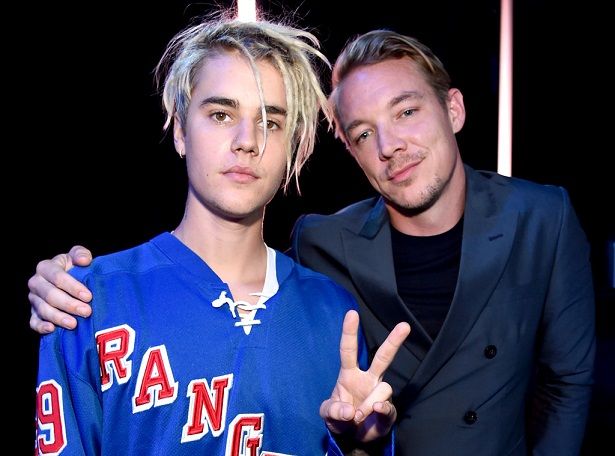 Major Lazer y Justin bieber