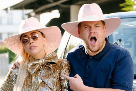 Lady Gaga sube al Carpool KaraokeEs una de las secciones más populares de The Late Night With James Corden de la CBS.