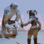 Skyrim como nunca lo habías vistoBethesda lanza un curioso vídeo realizado con figuras de plastilina.