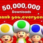 Super Mario Run supera los 50 millones de descargas