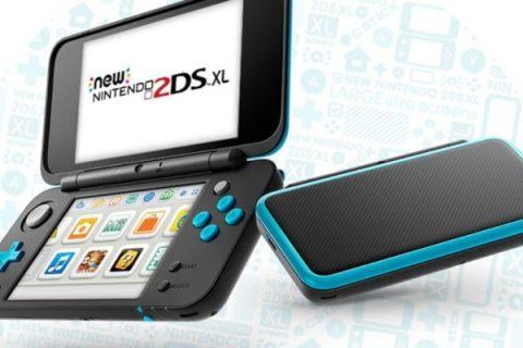 Presentan la New Nintendo 2DS XLSe pondrá a la venta el 28 de julio.