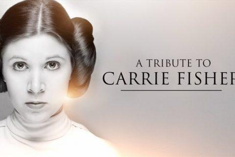 El tributo definitivo a Carrie FisherPublicado en la Star Wars Celebration.