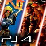 Jak 2, Jak 3 y Jak X: Combat Racing llegan a PS4 el 6 de diciembre